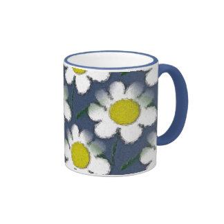 Crazy Daisy Love Coffee Mugs