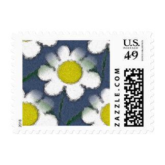 Crazy Daisy Love Stamp