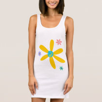 Crazy Daisy Sleeveless Dress