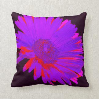 Crazy Daisy Throw Pillow