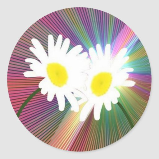 Crazy Daisys Stickers