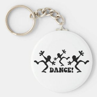Crazy Dancers Dancing Keychain