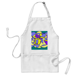 Crazy day adult apron