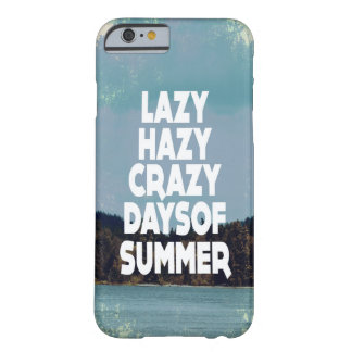 Crazy Days of Summer Barely There iPhone 6 Case