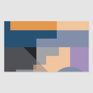 Crazy Designs Rectangular Sticker