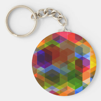 Crazy Diamond Pattern Keychain