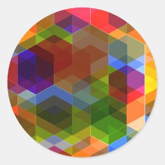 Crazy Diamond Pattern Stickers