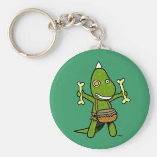 Crazy Dino Keychain
