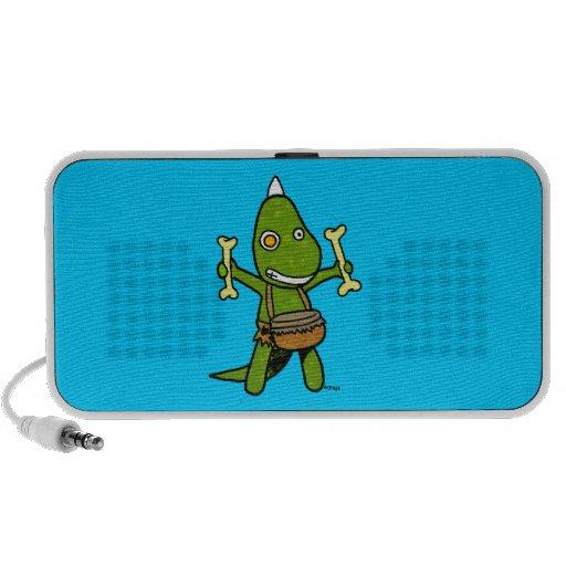 Crazy Dino Laptop Speaker