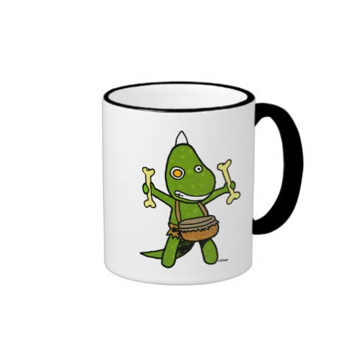 crazy dino mugs