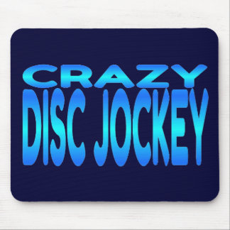 Crazy Disc Jockey Mouse Pad