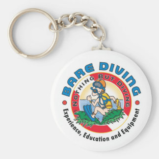 Crazy Diver Bare Diver Key Chain