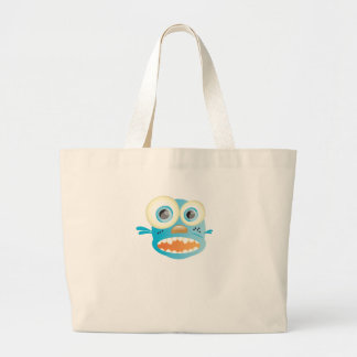 crazy dog tote bags