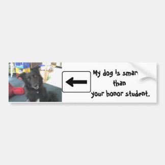 Crazy dog bumper stickers