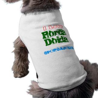 Crazy dog pet shirt