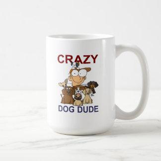 Crazy Dog Dude Mug