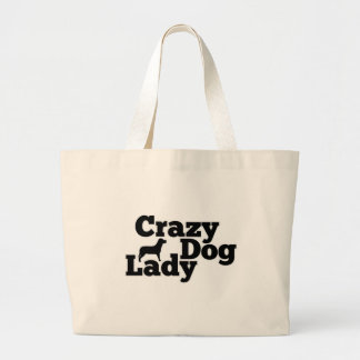 Crazy Dog Lady Canvas Bag