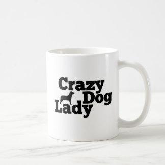 Crazy Dog Lady Classic White Coffee Mug