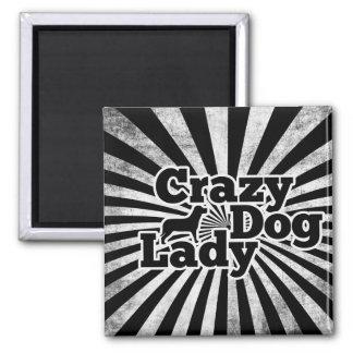 Crazy Dog Lady Fridge Magnets