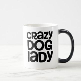 Crazy Dog Lady Magic Mug