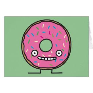 Crazy Donut Card
