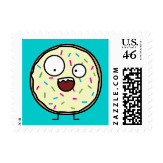 Crazy Donut Stamp