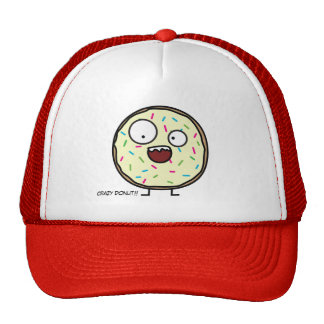 Crazy Donut with sprinkles Trucker Hat