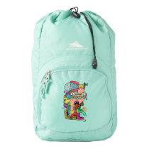 Crazy doodle high sierra backpack