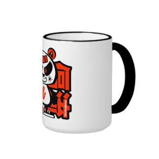 Crazy Drift Patrol - Aggressive Panda red Mugs