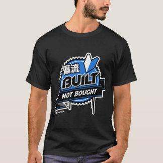 Crazy Drift Patrol - Built Not Bought (blue) T-Shirt