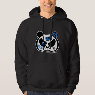 Crazy Drift Patrol - Drift Panda Head (blue) Hoodie