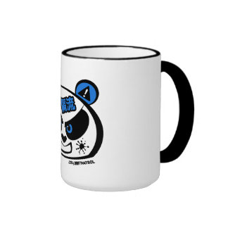 Crazy Drift Patrol - Drift Panda Head blue Mug