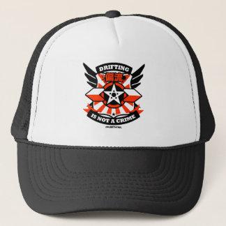 Crazy Drift Patrol - Drifting is not a Crime (red) Trucker Hat
