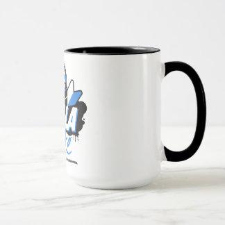 Crazy Drift Patrol - Hella Broke (blue) Mug