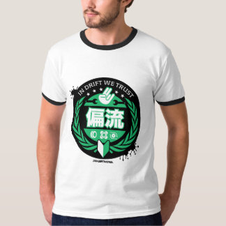 Crazy Drift Patrol - In Drift We Trust (green) T-Shirt