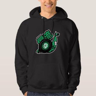 Crazy Drift Patrol - Turbo Snail (green) Hoodie