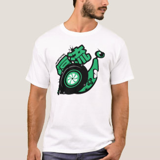 Crazy Drift Patrol - Turbo Snail (green) T-Shirt