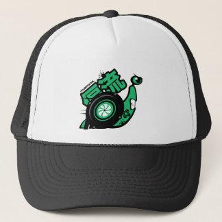 Crazy Drift Patrol - Turbo Snail (green) Trucker Hat