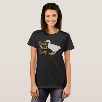 Crazy Duck Lady shirt