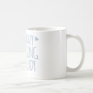 crazy dugong lady coffee mug