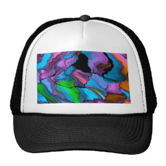 crazy effects 02 blue mesh hat