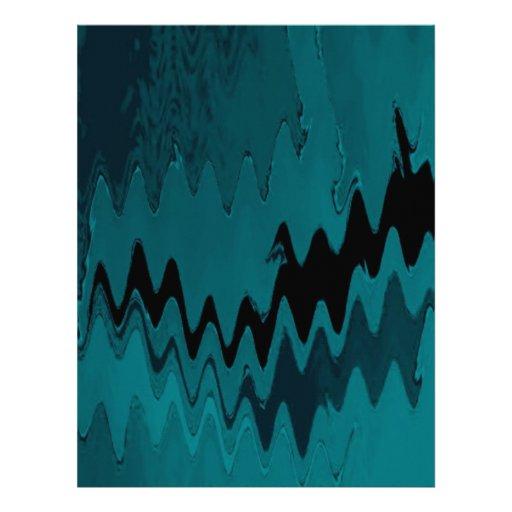 crazy effects aqua custom letterhead
