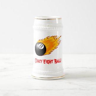 Crazy Eight Ball Stein Coffee Mugs
