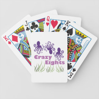 Crazy Eights Bicycle Playing Cards