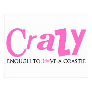 Crazy enough to love a Coastie Postcard
