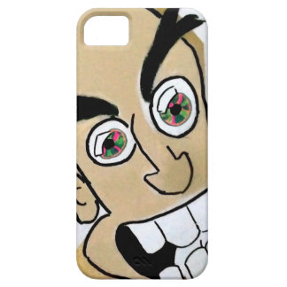 crazy eyed cell phone iPhone 5 cover