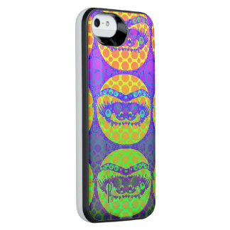 Crazy Eyes iPhone5/5s Power Gallery Battery Case Uncommon Power Gallery™ iPhone 5 Battery Case