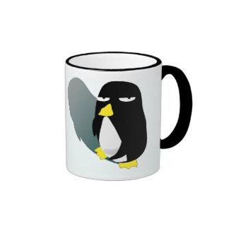 Crazy Eyes Penguin Coffee Mug