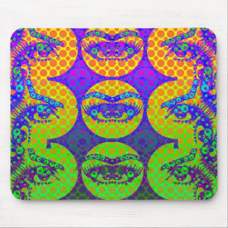Crazy Eyes Pop Mouse Pads