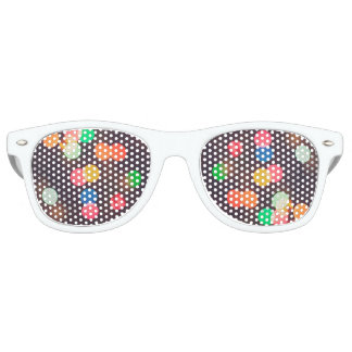 Crazy eyes sunglasses seeing spots?
